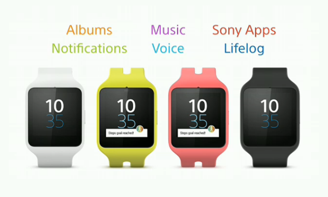 Sony Unveils The Smartwatch 3 With Android Wear
