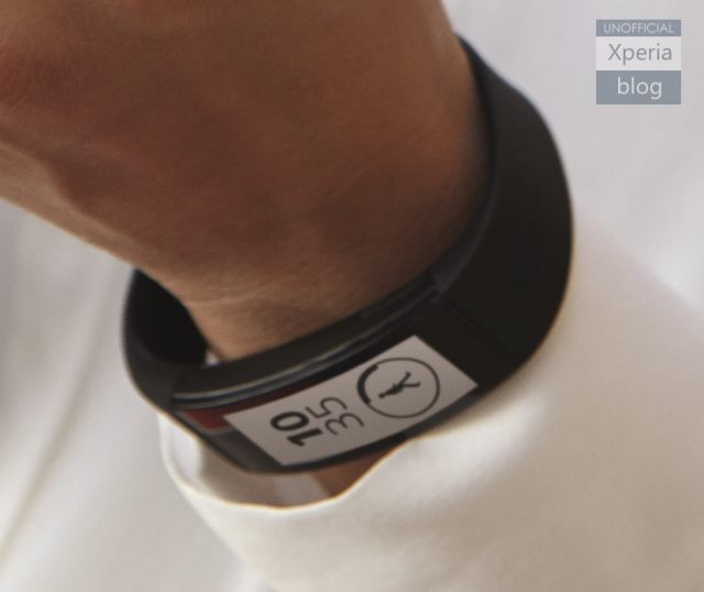Sony SmartBand Talk E Ink