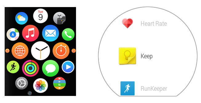 Did Google create a better smartwatch interface than Apple?