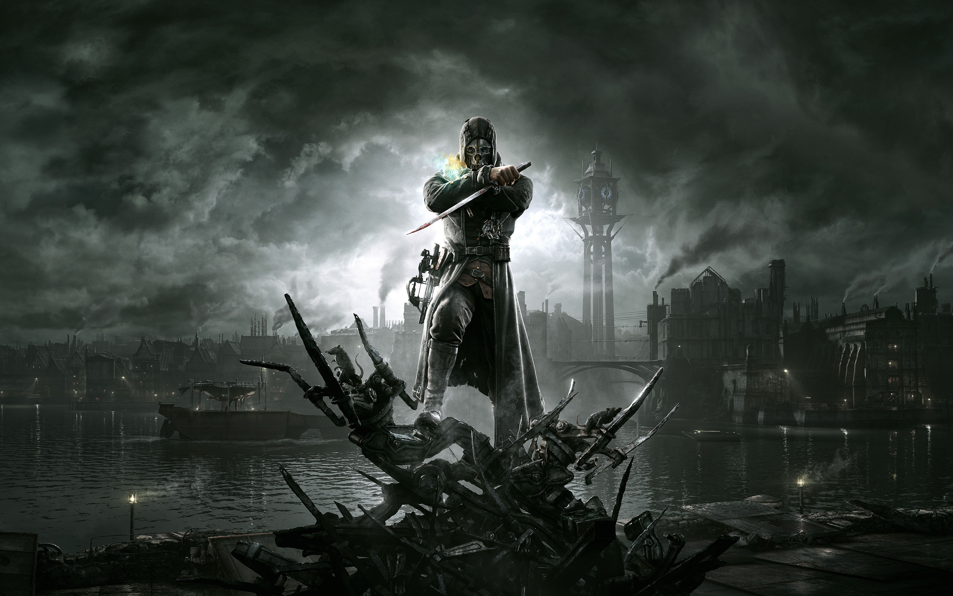 Android wallpaper video games corvo voltagebd