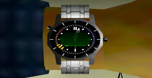 Best Moto 360 watchfaces: 007 GoldenEye theme