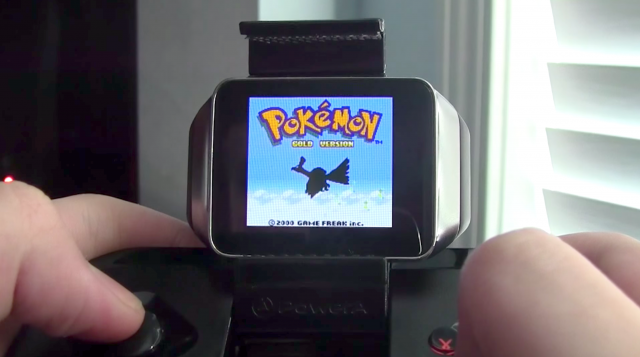 Game Boy Color emulator with BT controller on Android Wear