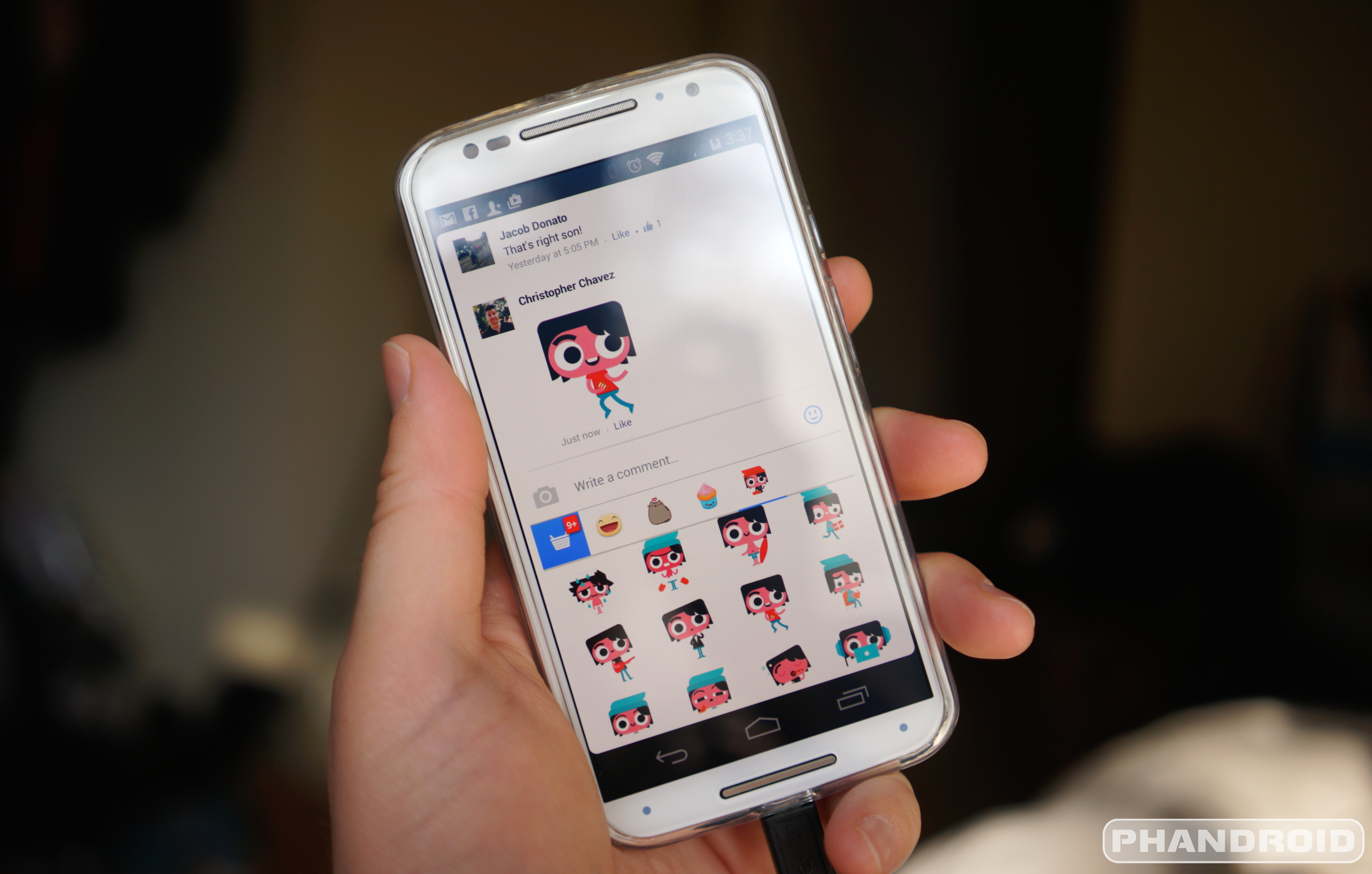 Facebook comments now let you use stickers instead of text