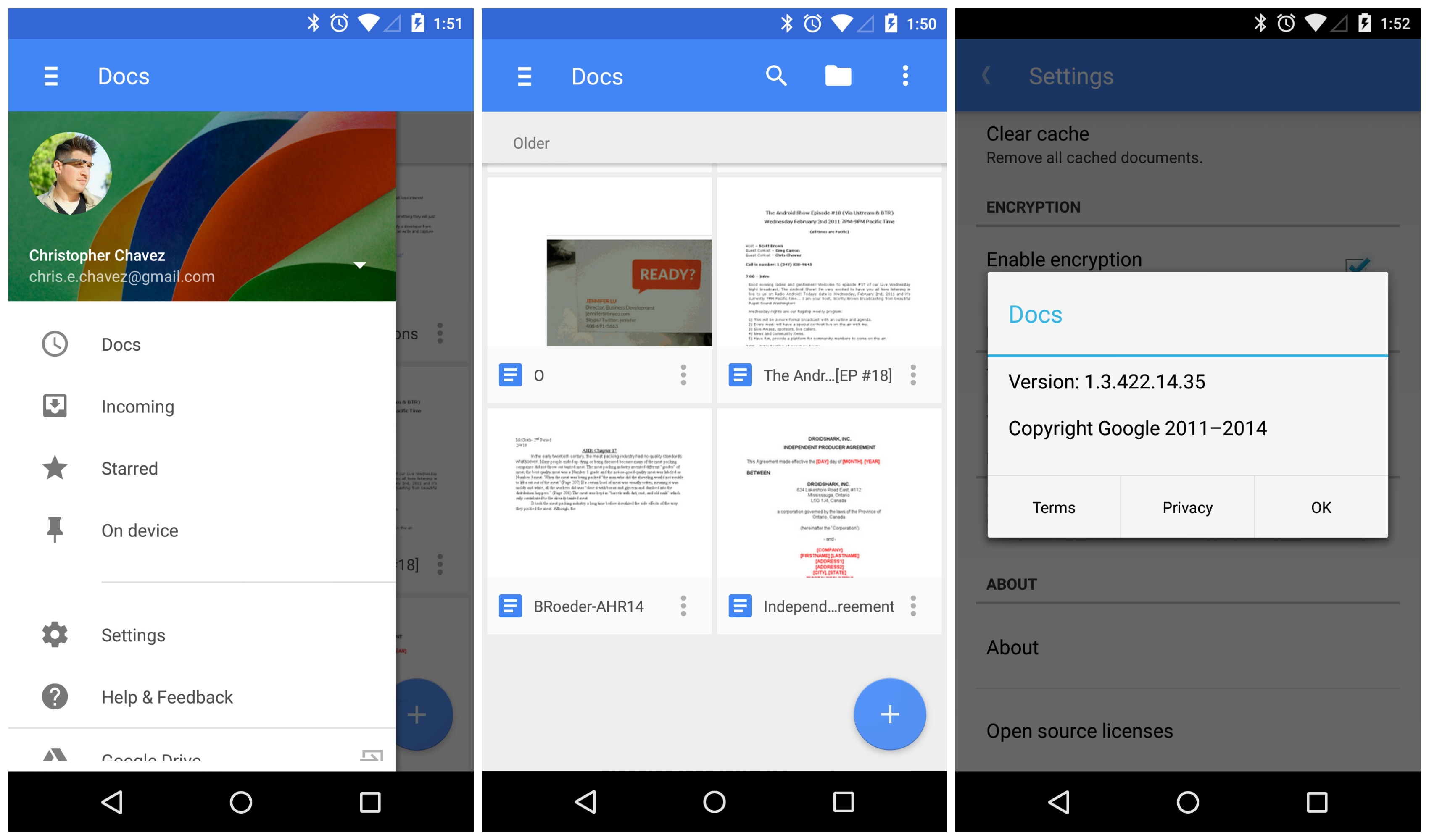 Google Material Design Template For Android