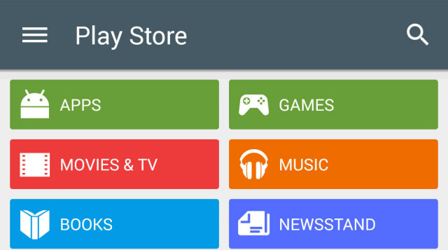 Google play store 5 0 with even more material design Play store app