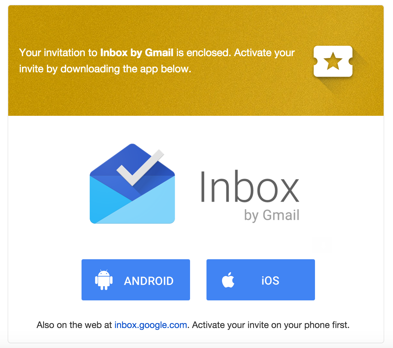 More Inbox By Gmail Invites Going Out Today
