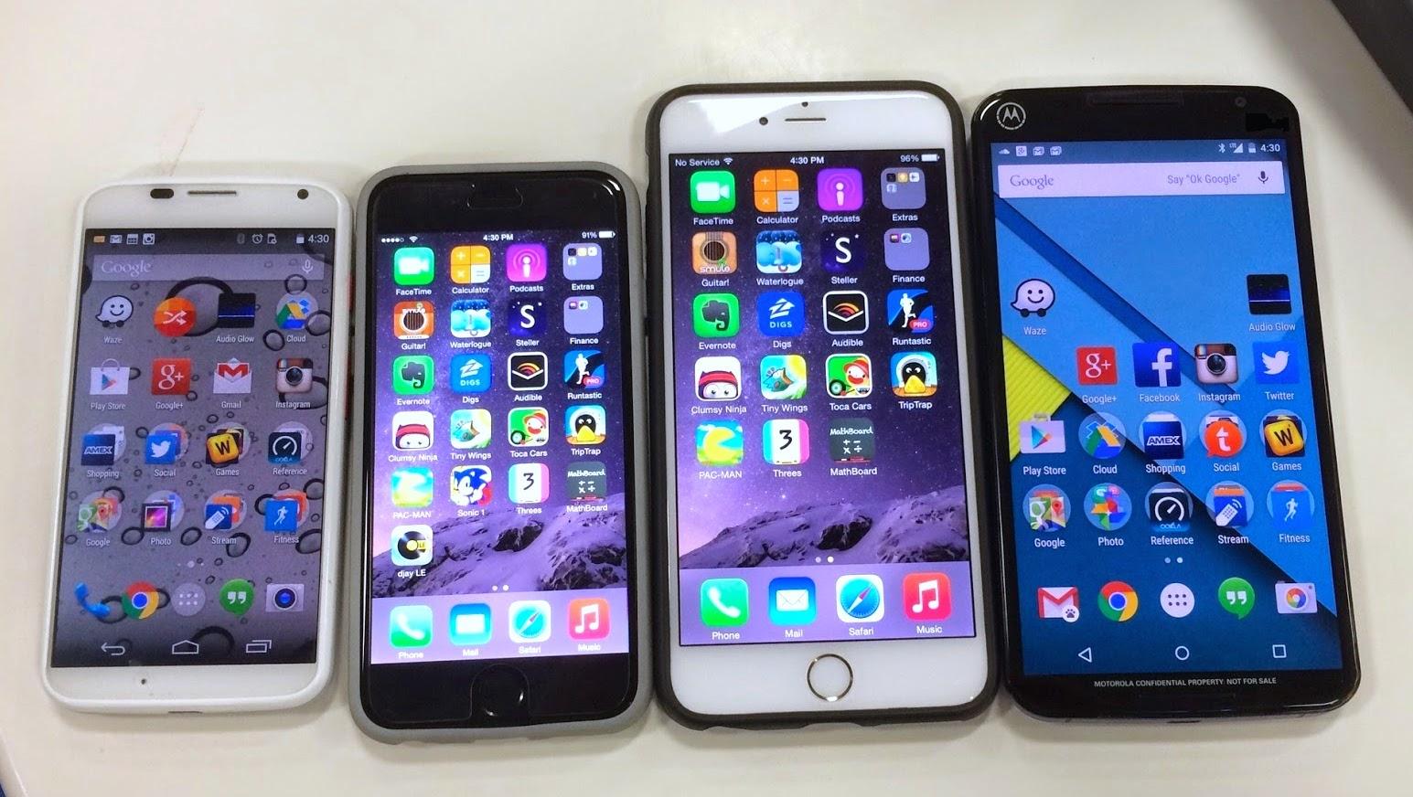 Nexus 6 camera samples and size comparison