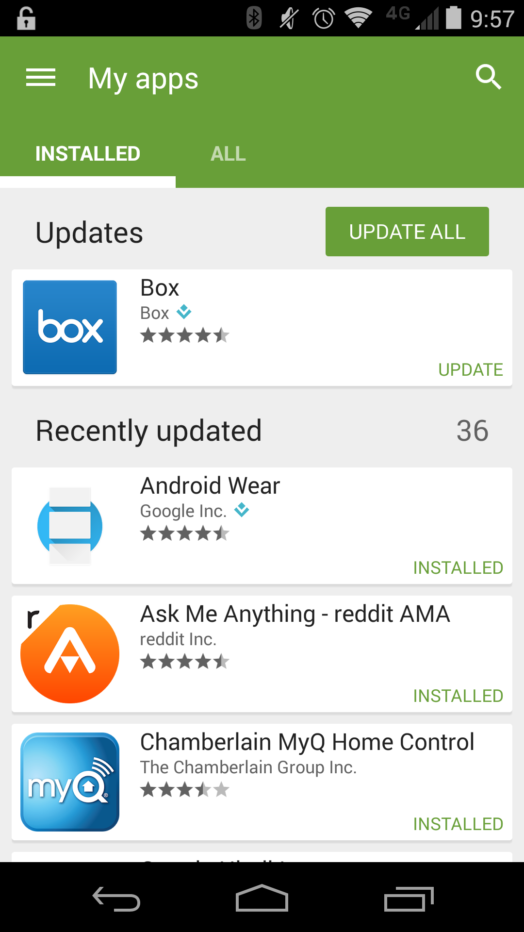 Google Play App Roundup Instagram Another World Tasks: Google Play Store 5.0 With Even More Material Design