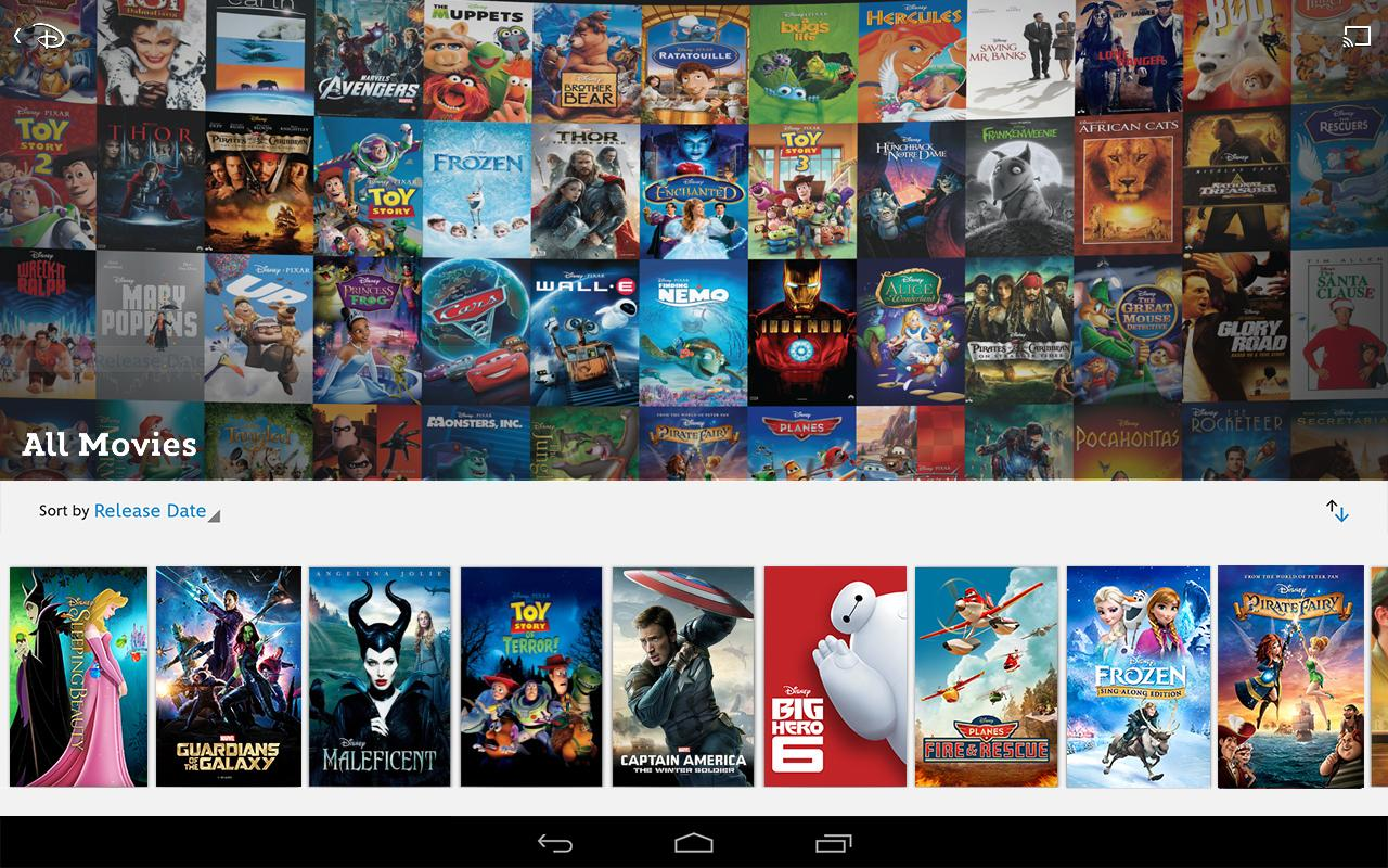 Disney Movies Anywhere Now Available For Android
