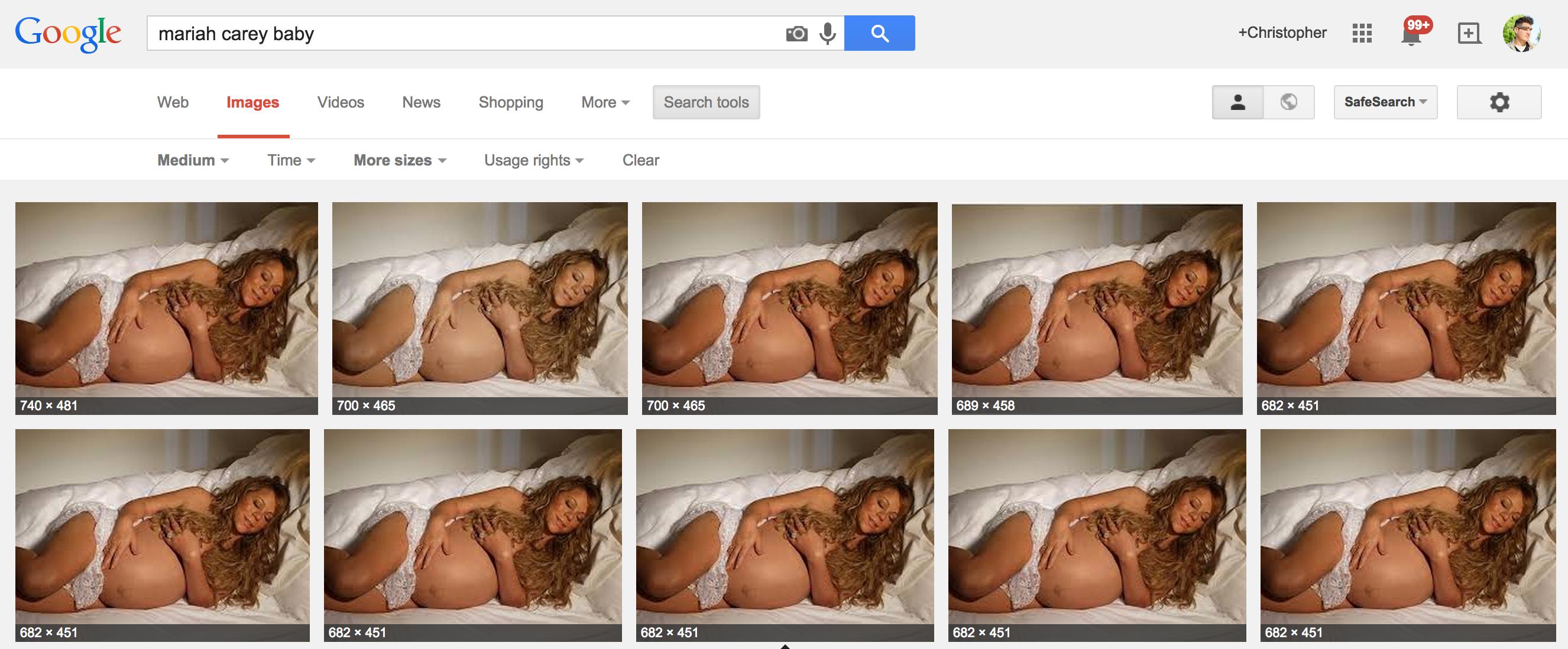 Mariah Carey Pregnant Chipotle
