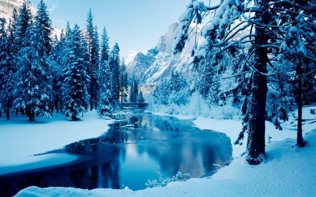 Android Wallpaper Winter Wonderland