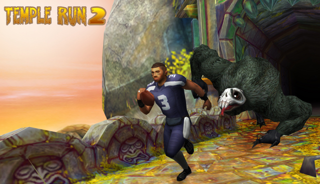 Top NFL Players will be available in Temple Run 2