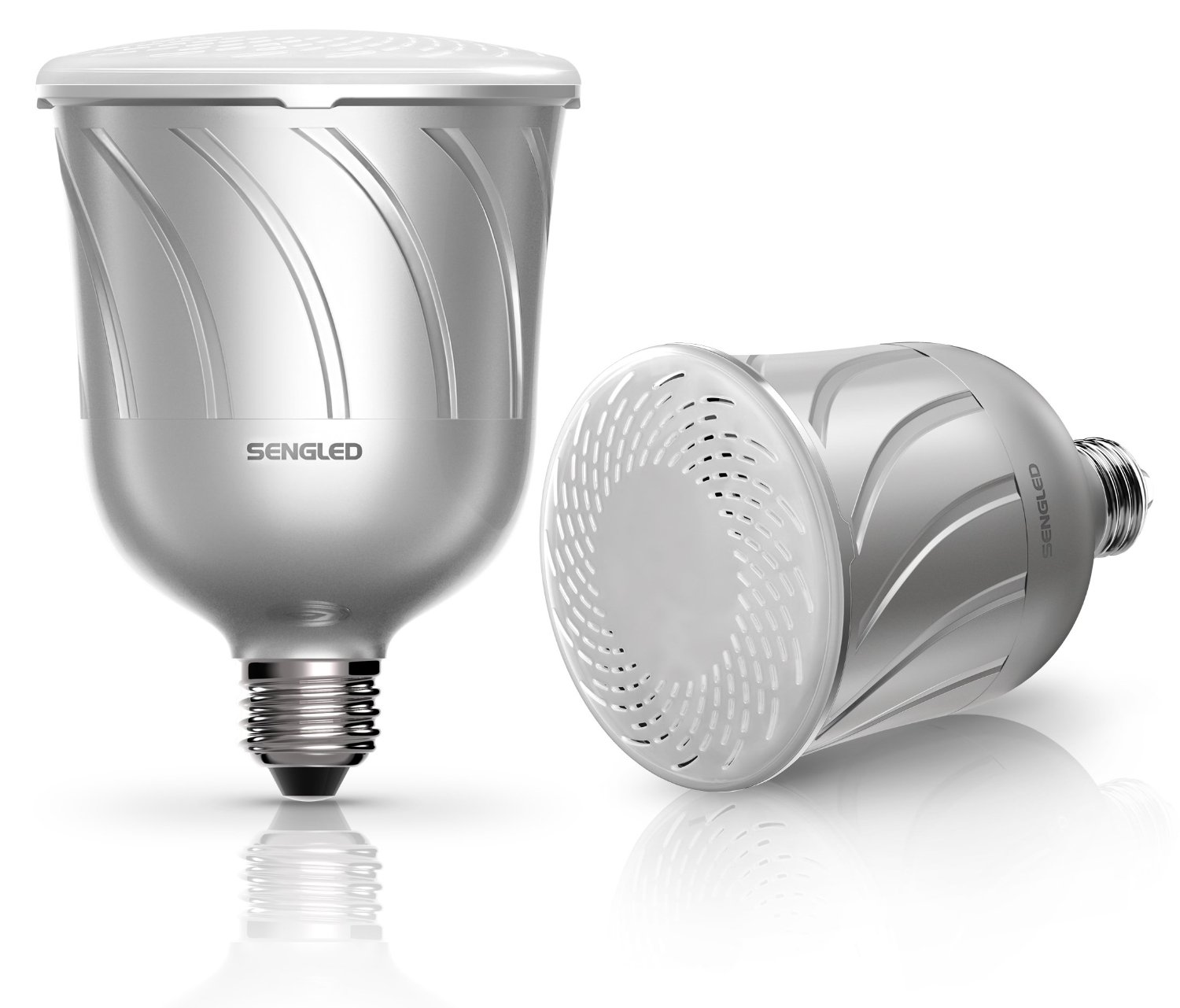 Gift idea pulse smart led light bulbs with built in jbl for Led light bulb with built in bluetooth speaker
