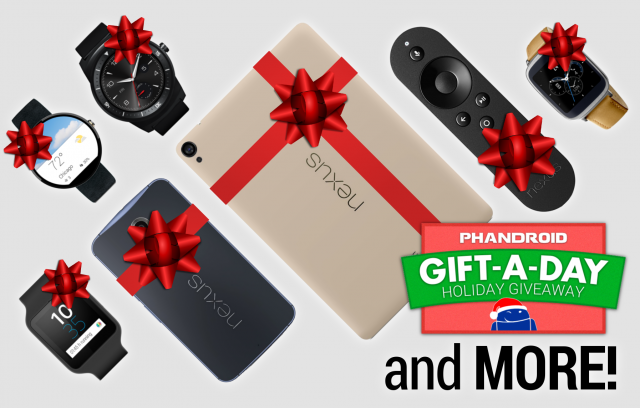 Gift-a-day Giveaway: 20 prizes including Nexus phones ...