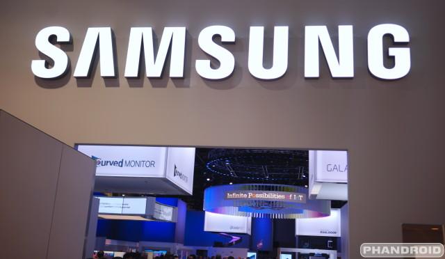 Samsung Logo CES 2015 DSC07883