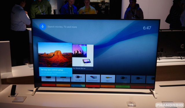 Ces 2015 Video Eyes On With Sony S Bravia 900 With Android Tv
