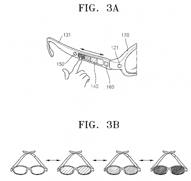 samsung glasses patent 2