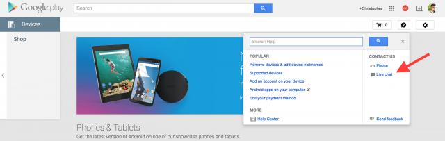 Google Hangouts Helpouts Live Support