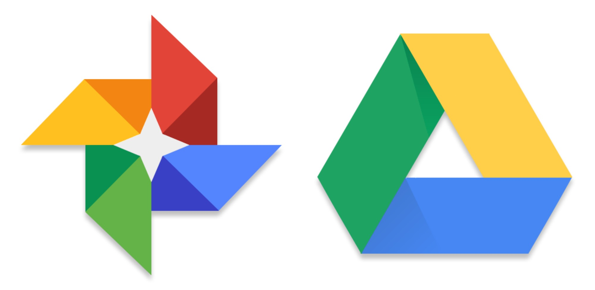 📷 Logotipo do Google Fotos / Drive | Phandroid