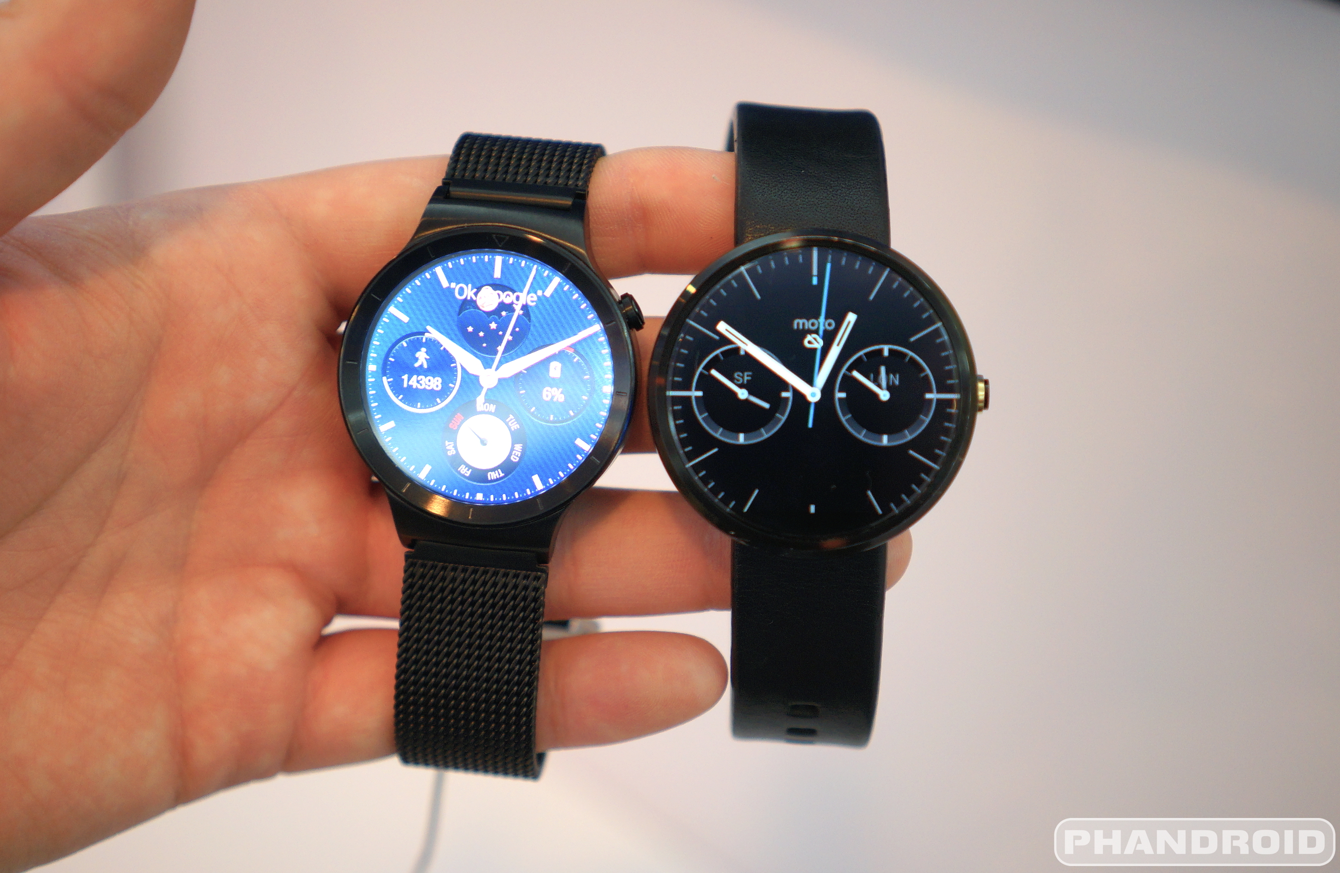 Hands On With The Elegant Huawei Watch Video