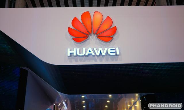 Huawei logo  DSC08913