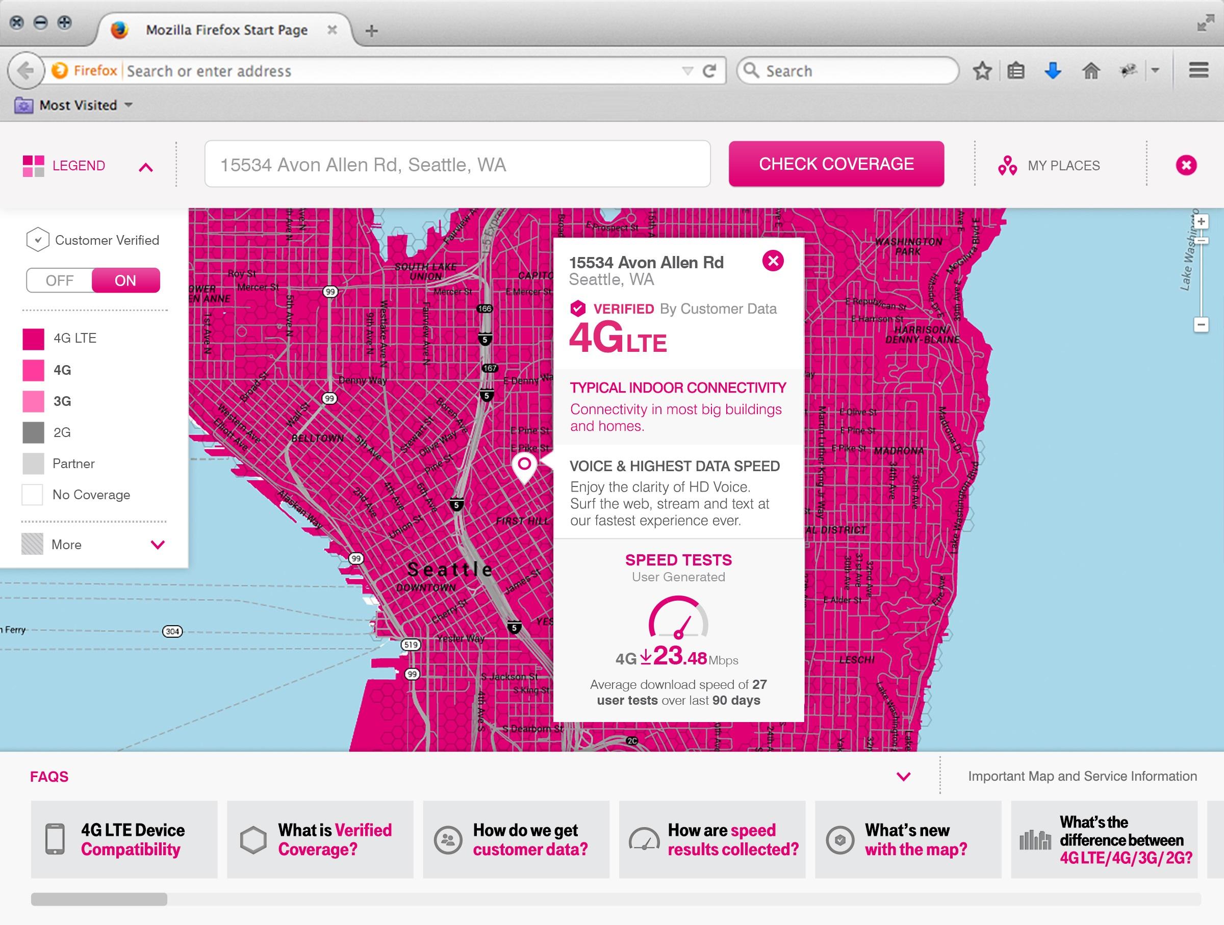 TMobiles nextgen coverage maps pull data from realtime