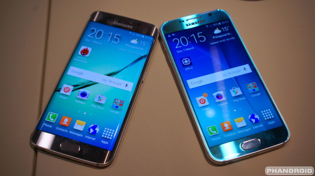 Samsung Galaxy S6 & S6 Edge prices for T-Mobile, AT&T ...