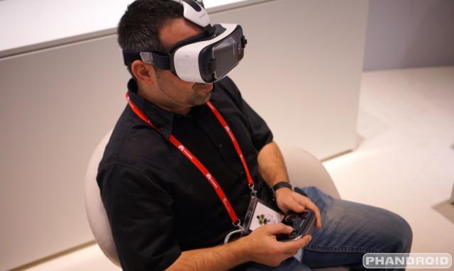 Samsung Gear VR video games DSC08527
