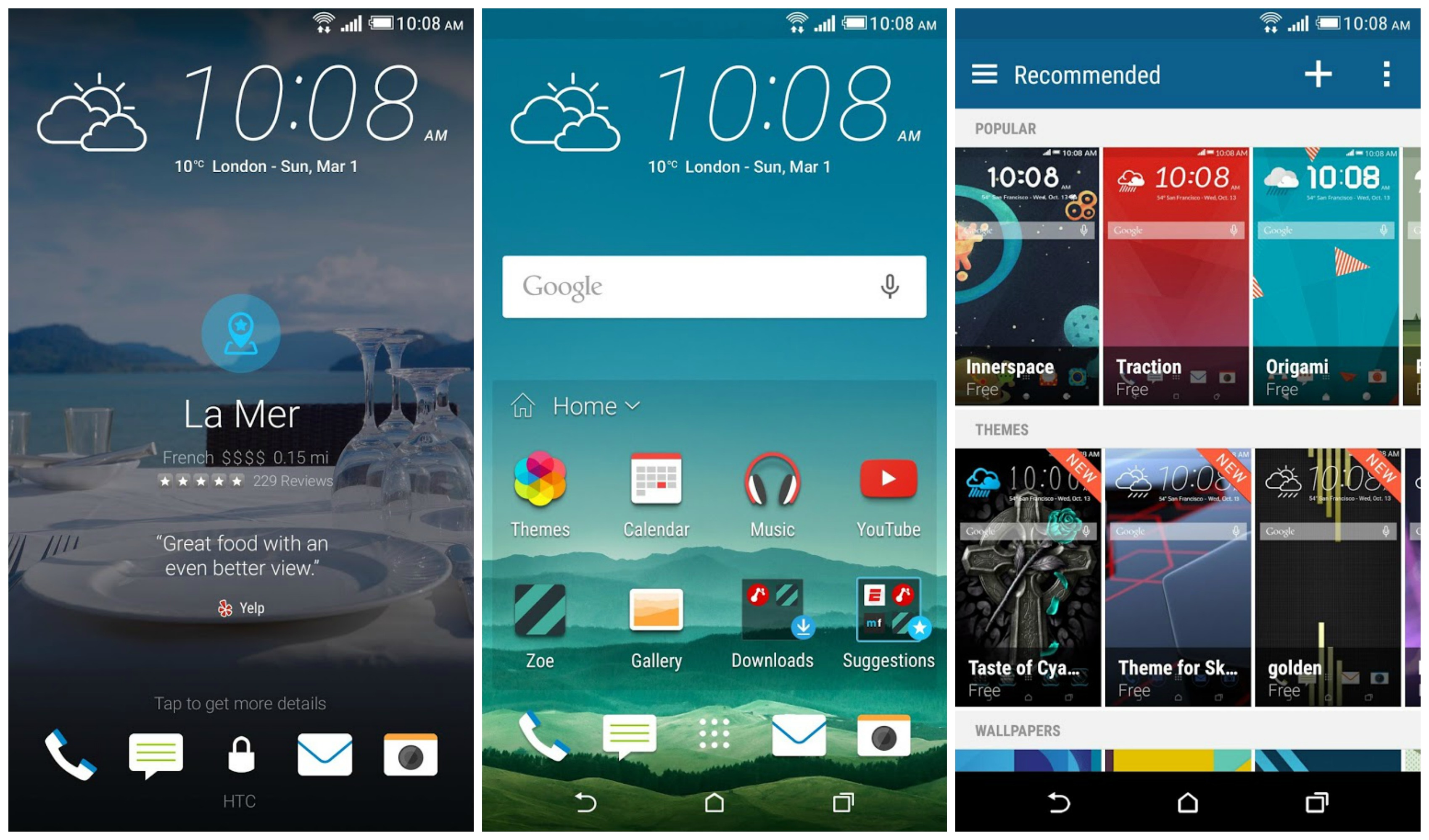 HTC Sense Home brings Sense 7 goodies to One M8/M7