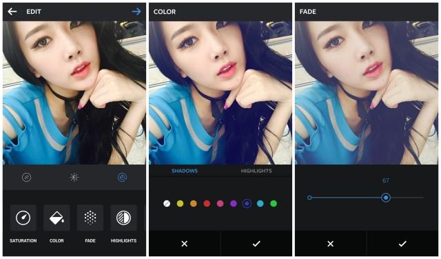 Instagram 6.19.0 update color fade