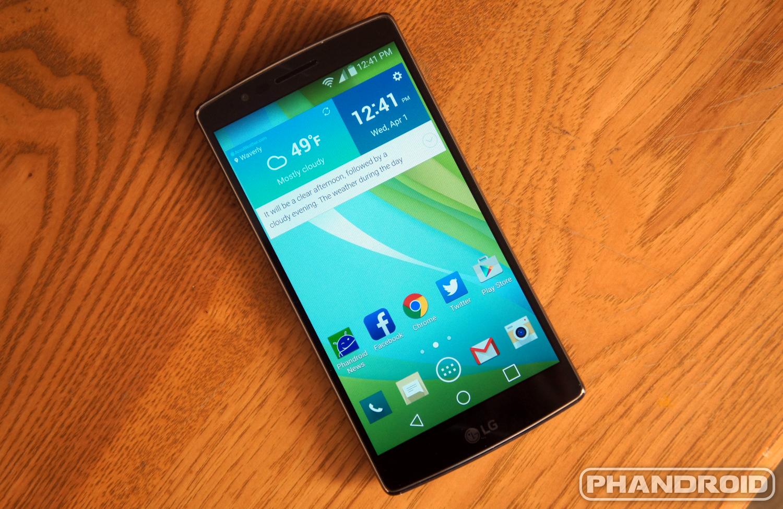 Sprint's LG G Flex 2 gets Android 5 1 1 Lollipop update – TechGreatest