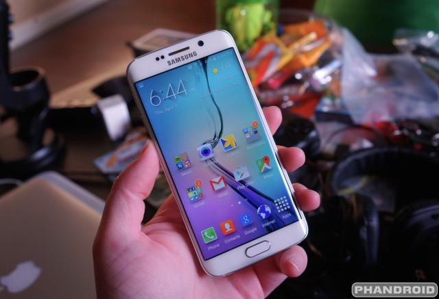 Samsung Galaxy S6 Edge DSC09193