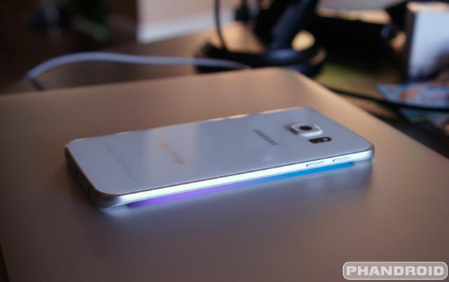 Samsung Galaxy S6 Edge Lighting DSC09196