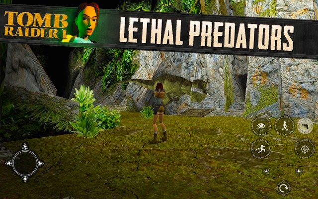 Official Tomb Raider I now available on Android