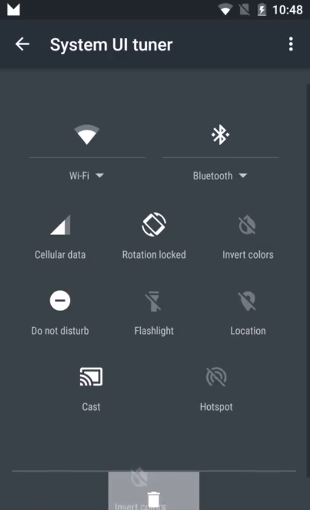 Android M Us Lets You Customize The Quick Settings