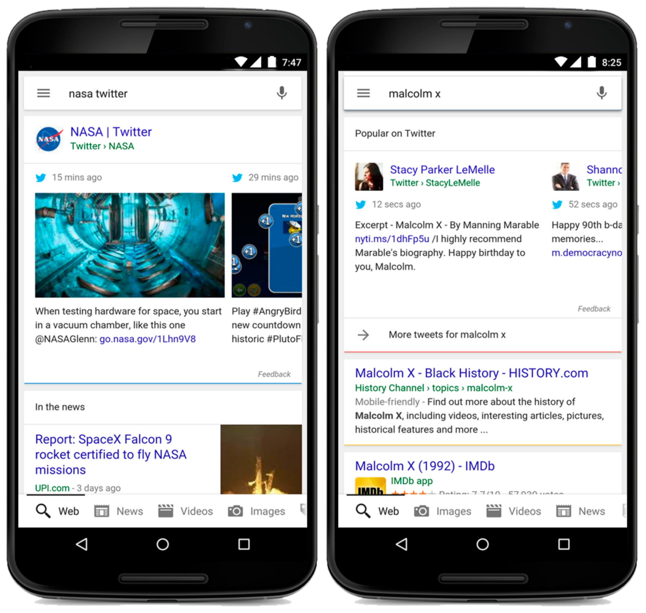 Search Results: Real-time Tweets Now In Google Search Results
