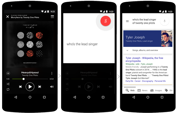 google-now-on-tap-music