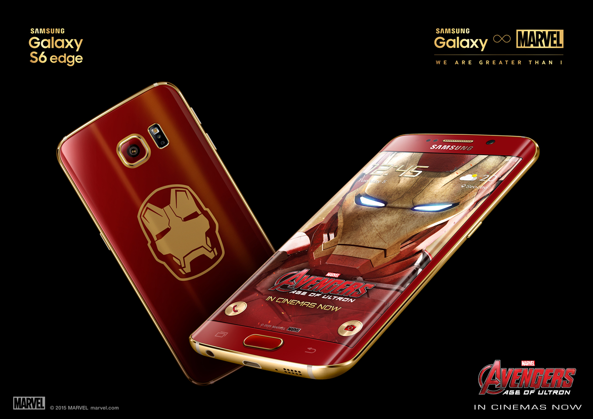 Download Galaxy S7 Edge Injustice Theme For Any Android Device: Iron Man Samsung Galaxy S6 Edge Has Been Fully Revealed