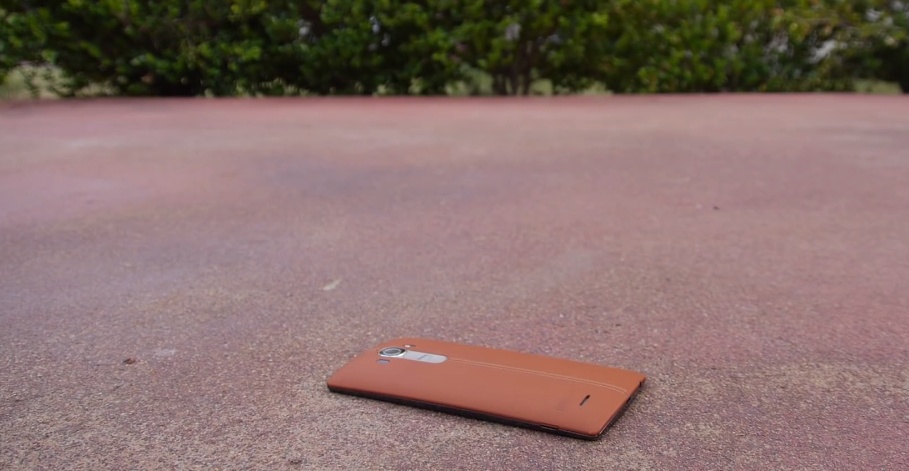 How durable is the LG G4? This drop test has the answer ...
