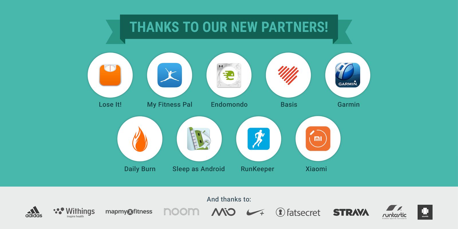 New Google Fit partners and data for devs