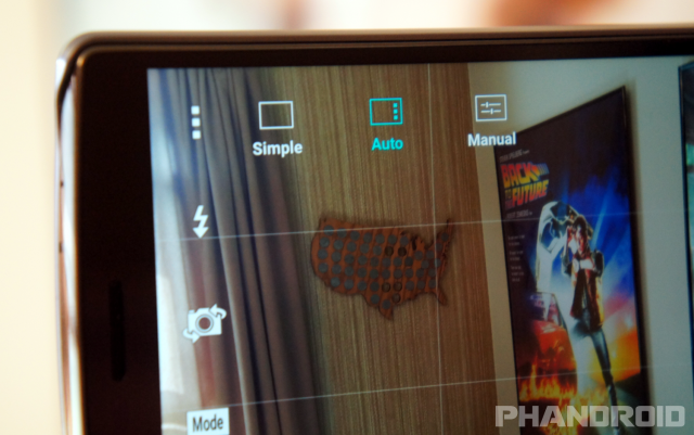LG G4 camera mode