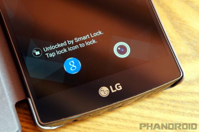 LG G4 lock
