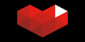 YouTube Gaming heart