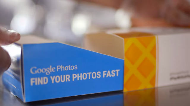 Google Photos paywithaphoto promo