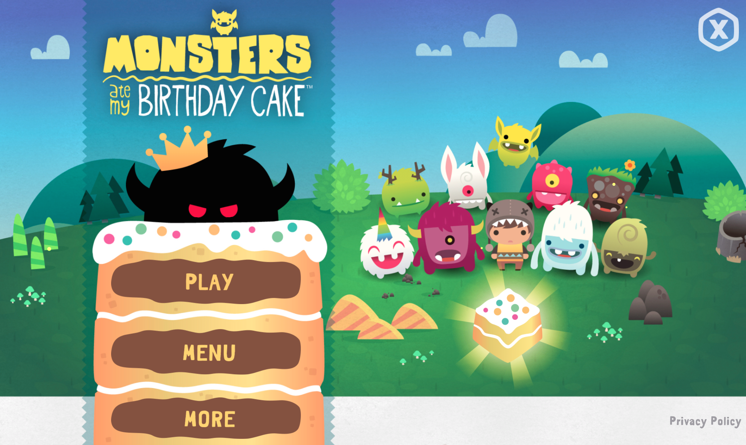 Monsters Ate My Birthday Cake Is Androids Free App Of The Week