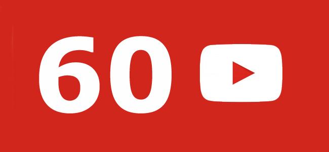 YouTube 60fps app update
