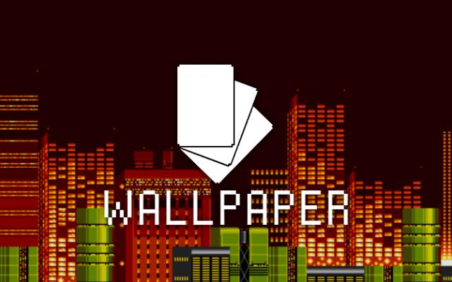 Android Wallpaper: 8-Bit Landscapes