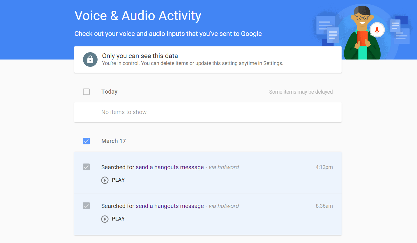 Google Stores A History Of Your Voice Searches? (and How To