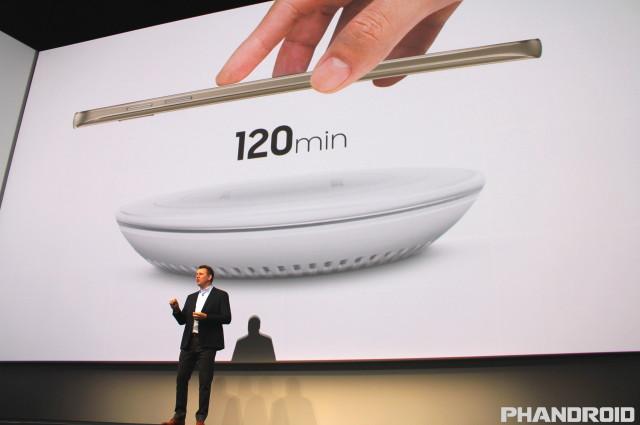 Fast Wireless Charging Samsung Galaxy Note 5