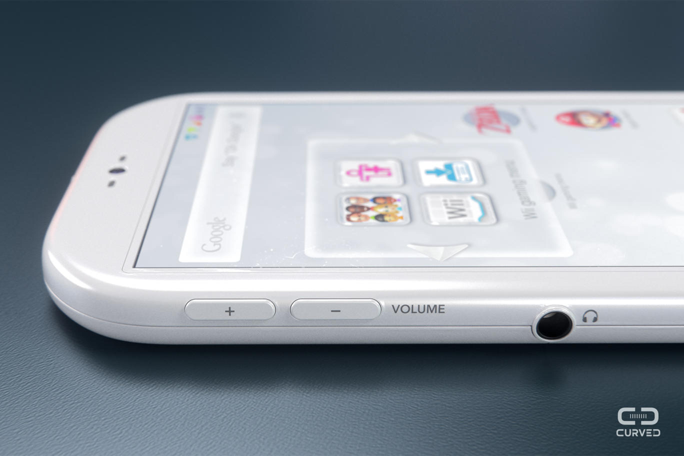 the wii m is a modern take on the nintendo smartphone concept